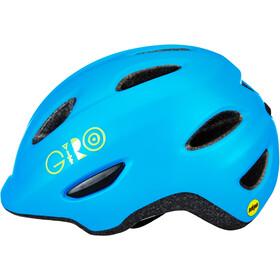 Giro Scamp MIPS Helmet Kids matte blue/lime